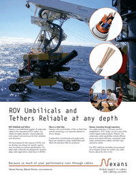 Marine Technology Magazine, page 5,  Jul 2008 dynamic deep water applications