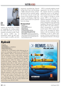 Marine Technology Magazine, page 12,  Jul 2010 Gulf of Mexico