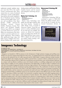 Marine Technology Magazine, page 24,  Jul 2010 Measurement Technology