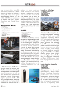 Marine Technology Magazine, page 28,  Jul 2010 east coast