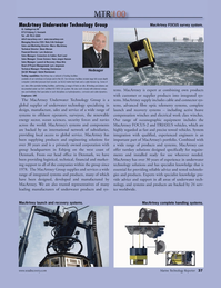 Marine Technology Magazine, page 37,  Jul 2010 Marco MacArtney