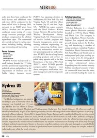 Marine Technology Magazine, page 38,  Jul 2010