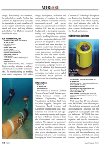 Marine Technology Magazine, page 40,  Jul 2010 Robert Jechart