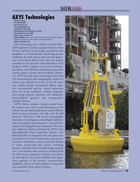 Marine Technology Magazine, page 43,  Jul 2010 Harry Weiler