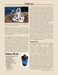 Marine Technology Magazine, page 49,  Jul 2010 TSS technology