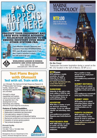 Marine Technology Magazine, page 4,  Jul 2010