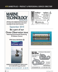 Marine Technology Magazine, page 62,  Jul 2010