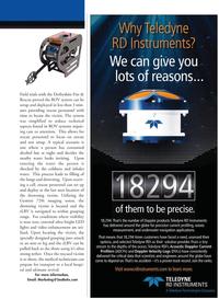 Marine Technology Magazine, page 11,  Sep 2010 720i imaging sonar
