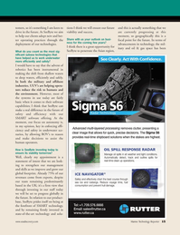 Marine Technology Magazine, page 15,  Sep 2010 software