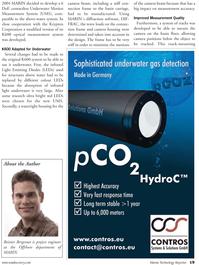Marine Technology Magazine, page 19,  Sep 2010 Reinier Bergevoet