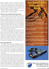 Marine Technology Magazine, page 23,  Sep 2010 underwater infrastructure