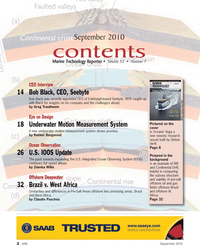 Marine Technology Magazine, page 2,  Sep 2010 Claudio Paschoa