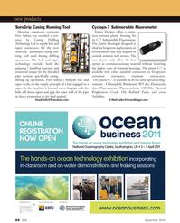 Marine Technology Magazine, page 44,  Sep 2010 taper technology