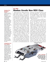 Marine Technology Magazine, page 8,  Oct 2010 Challenger