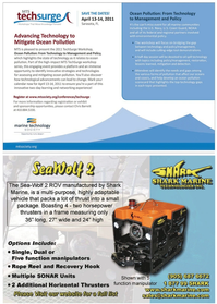 Marine Technology Magazine, page 13,  Oct 2010