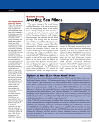 Marine Technology Magazine, page 18,  Oct 2010 Graham Shimmield
