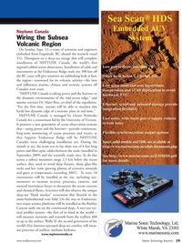 Marine Technology Magazine, page 19,  Oct 2010 Victoria