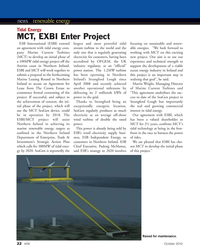 Marine Technology Magazine, page 22,  Oct 2010 Northern Ireland Department of Enterprise, Trade & Investment