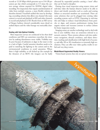 Marine Technology Magazine, page 29,  Oct 2010 video recording systems