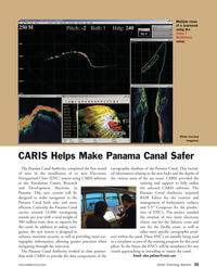 Marine Technology Magazine, page 35,  Oct 2010 Pacific coast