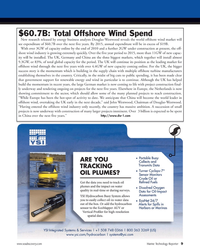 Marine Technology Magazine, page 9,  Nov 2010