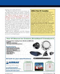 Marine Technology Magazine, page 11,  Nov 2010
