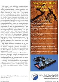 Marine Technology Magazine, page 15,  Nov 2010