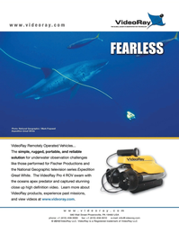Marine Technology Magazine, page 2nd Cover,  Nov 2010