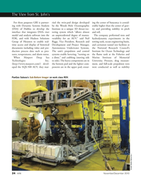 Marine Technology Magazine, page 24,  Nov 2010