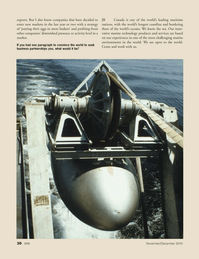 Marine Technology Magazine, page 30,  Nov 2010