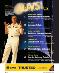 Marine Technology Magazine, page 2,  Nov 2010