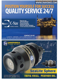 Marine Technology Magazine, page 3,  Nov 2010