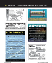 Marine Technology Magazine, page 61,  Nov 2010