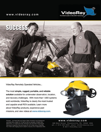Marine Technology Magazine, page 2nd Cover,  Mar 2011