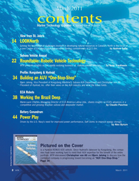 Marine Technology Magazine, page 2,  Mar 2011