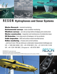Marine Technology Magazine, page 3rd Cover,  Mar 2011