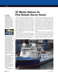 Marine Technology Magazine, page 10,  Apr 2011 International Maritime Organization