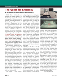 Marine Technology Magazine, page 16,  Apr 2011 project work site