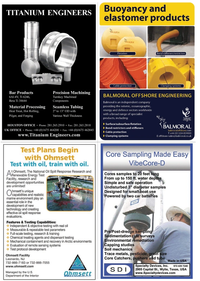 Marine Technology Magazine, page 19,  Apr 2011 specialist products