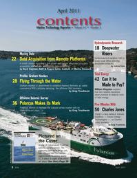Marine Technology Magazine, page 2,  Apr 2011 Dubai