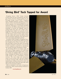 Marine Technology Magazine, page 56,  Apr 2011 technological solutions