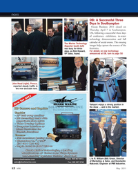 Marine Technology Magazine, page 12,  May 2011 Konstantin Nakovski