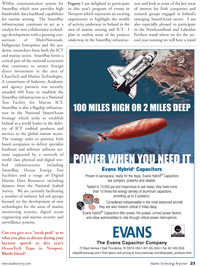 Marine Technology Magazine, page 23,  May 2011 surveillance systems