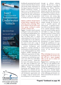 Marine Technology Magazine, page 24,  May 2011 Naval Service