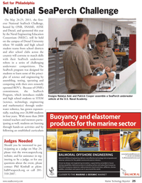 Marine Technology Magazine, page 25,  May 2011 Ensigns Natalya Aoki