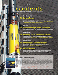 Marine Technology Magazine, page 2,  May 2011 Karl Kenny