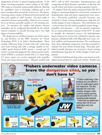 Marine Technology Magazine, page 39,  May 2011 Marport