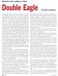 Marine Technology Magazine, page 44,  May 2011 Edward Lundquist