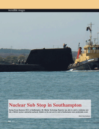 Marine Technology Magazine, page 64,  May 2011 United Kingdom