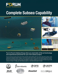 Marine Technology Magazine, page 4th Cover,  May 2011